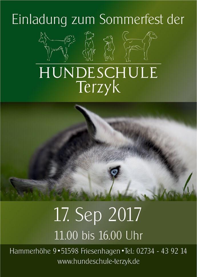 Sommerfest der hundeschule terzyk wir sind mit einem for Ikea siegen offnungszeiten